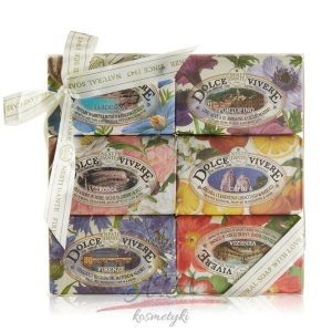 Nesti Dante kolekcja DOLCE VIVERE – zestaw naturalnych mydeł