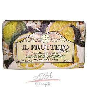 Nesti_Dante-Il_Frutteto-naturalne mydlo Cytryna z Bergamotką 250g