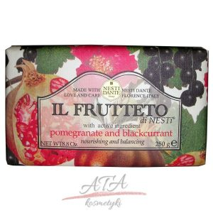 Nesti_Dante-Il_Frutteto-naturalne mydlo  Granat i Czarna porzeczka 250g