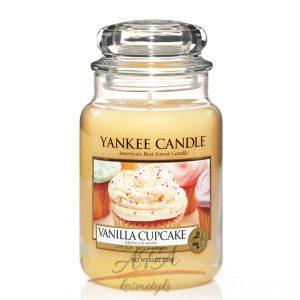 Yankee Candle Vanilla Cupcake sloik duzy