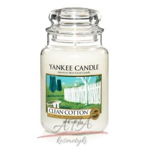 Yankke Candle Clean Cotton