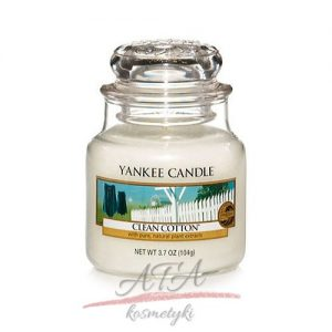 Yankke Candle Clean Cotton maly