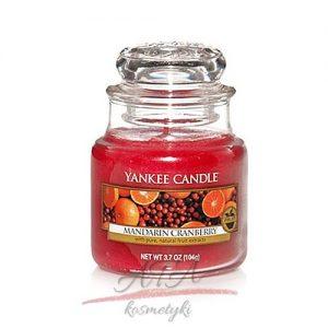 Yankke Candle Mandarin Cranberry maly