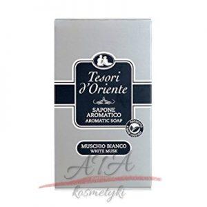 Tesori d'Oriente White Musk białe piżmo mydło w kartoniku 150g