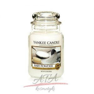 Yankee Candle-baby-powder duzy sloik