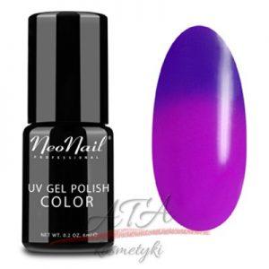 Lakier Hybrydowy Termiczny 6 ml - Purple Bunny