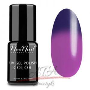 Lakier Hybrydowy Termiczny 6 ml - Purple Rain