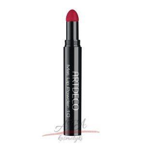 Artdeco - Kolekcja Hypnotic Blossom - Mat Lip Powder - pomadka matowa - 10 Hypnotic Red