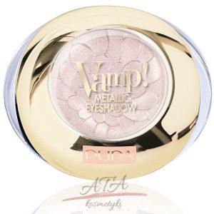 Pupa - Kolekcja Pink Muse - Vamp! Metallic - metaliczny cień do powiek - 007 Ethereal Nude