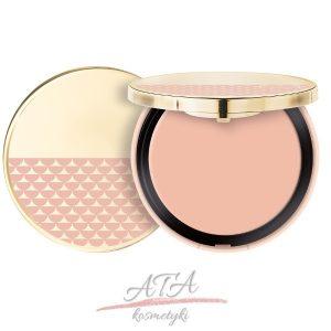 Pupa - kolekcja Pink Muse - kremowy rozświetlacz w kompakcie - 001 Luxe Gold