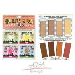 The Balm Highlite 'N Con Tour Paleta do konturowania twarzy