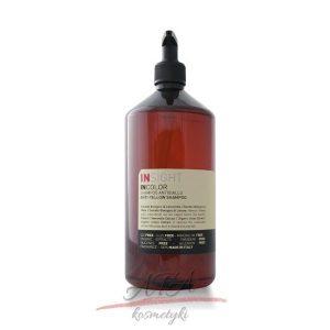 Insight INCOLOR Anti-Yellow Shampoo Szampon niwelujący żółty odcień włosów 1000 ml