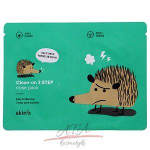 SKIN79 Clean-on 2 STEP nose pack maseczka oczyszczająca