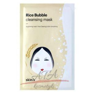 SKIN79 Rice Bubble Cleansing Mask Maseczka oczyszczajaca z efektem masażu