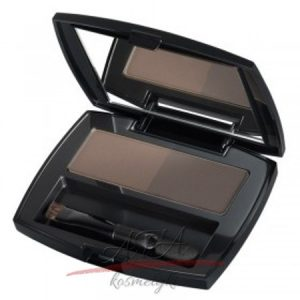 Isadora - Perfect Brows Duo Compact Powder - zestaw cieni do brwi w kompakcie - 15 Brown Duo