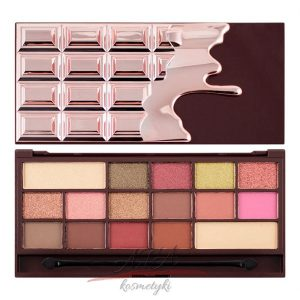 Makeup Revolution Paleta cieni I Heart Makeup I ♡ Chocolate Rose Gold