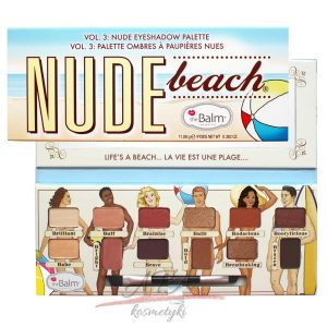 The Balm NUDE BEACH Nude Eyeshadow Palette Paleta 12 cieni do powiek