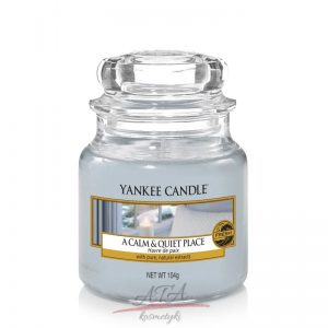 Yankee Candle A CALM & QUIET PLACE świeca zapachowa słoik mały