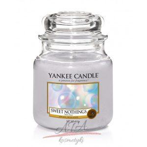 Yankee Candle SWEET NOTHINGS świeca zapachowa słoik średni