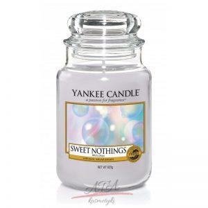 Yankee Candle SWEET NOTHINGS świeca zapachowa słoik duży