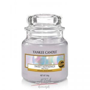 Yankee Candle SWEET NOTHINGS świeca zapachowa słoik mały