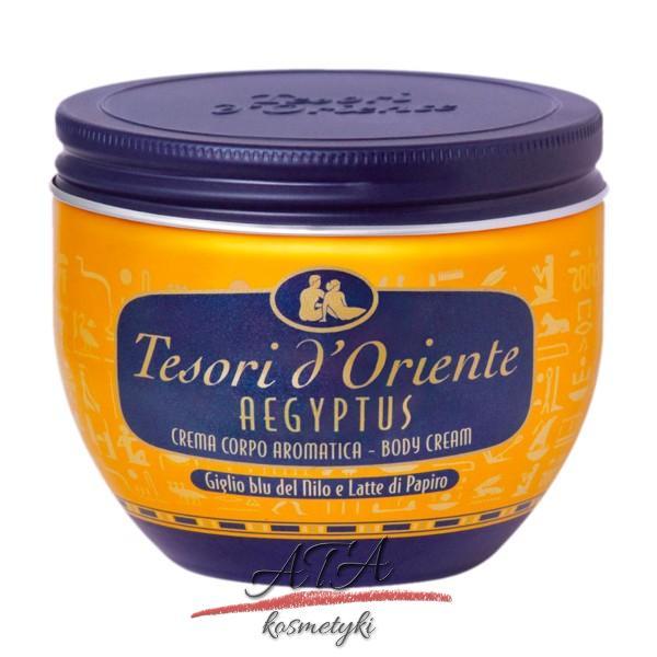 Tesori d'Oriente Aegyptus Aromatyczny krem do ciała w słoiku 300 ml