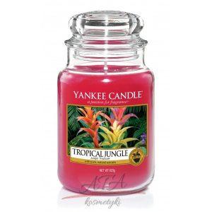 Yankee Candle TROPICAL JUNGLE świeca zapachowa słoik duży