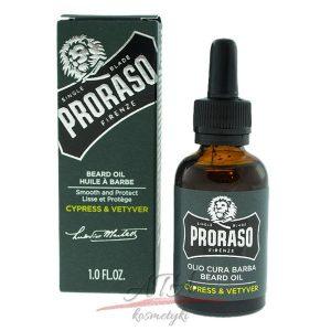 Proraso Cypress & Vetyver Beard Oil Olejek do brody 30ml