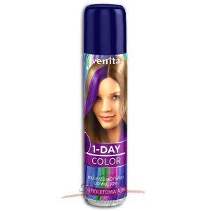 Venita !-DAY COLOR Spray koloryzujący FIOLETOWA AURA 50 ml