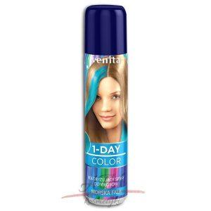 Venita !-DAY COLOR Spray koloryzujący MORSKA FALA 50 ml