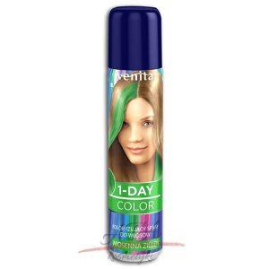 Venita !-DAY COLOR Spray koloryzujący WIOSENNA ZIELEŃ 50 ml