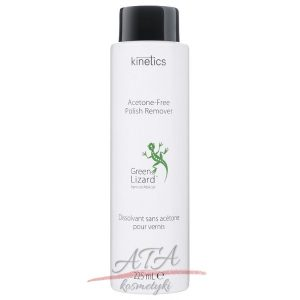 Kinetics Green Lizard Acetone-Free Polish Remover Zmywacz do paznokci bez acetonu 225 ml