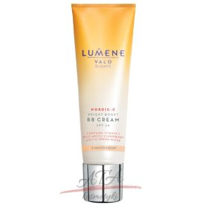 Lumene Valo Nordic C Bright Boost BB Cream SPF20 Light Medium Rozświetlający krem BB 30 ml