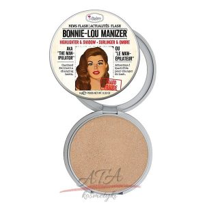 The Balm BONNIE-LOU MANIZER HIGHLIGHTER & SHADOW Rozświetlacz 9g