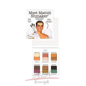 The Balm Meet Matt(e) Shmaker Eyeshadow Palette Paleta cieni do powiek 9,6g