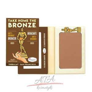 The Balm TAKE HOME THE BRONZE ANtI ORANGE BRONZER Puder brązujący GREG 7,08 g