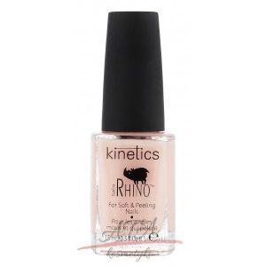 Kinetics NANO RHINO For Soft & Peeling Nails Wzmacniająca odżywka do miękkich i osłabionych paznokci 15ml