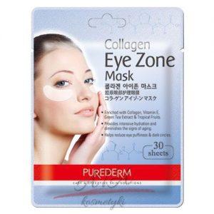 PUREDERM Collagen Eye Zone Mask Kolagenowe płatki pod oczy 30 szt