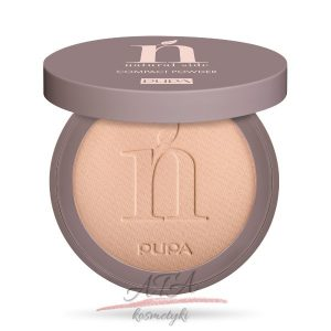 Pupa - Natural Side - Compact Powder - Puder matujący