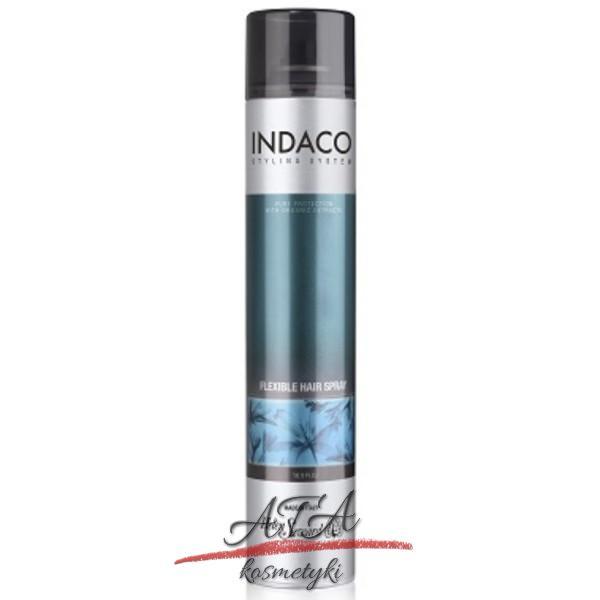 Helen Seward INDACO VOLUME FLEXIBLE HAIR SPRAY Lakier średnio utrwalający 500 ml
