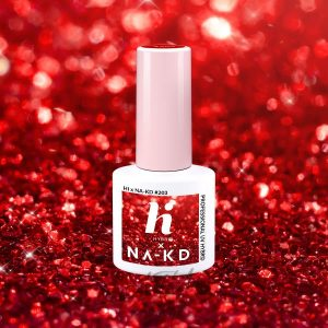 Hi Hybrid - lakier hybrydowy - Kolekcja NA - KD - #203 Red Elements