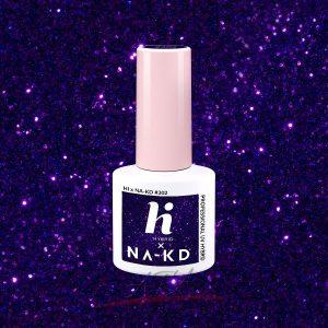 Hi Hybrid - lakier hybrydowy - Kolekcja NA - KD - #302 Shiny Violet