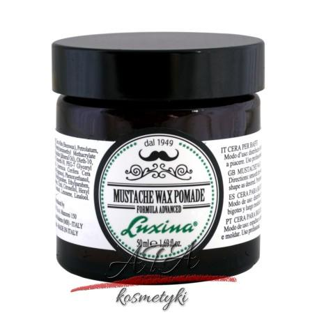Luxina Mustache Wax Pomade pomada woskowa do wąsów 50 ml