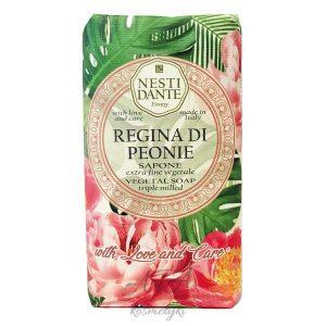 Nesti Dante REGINA DI PEONIE naturalne mydło PIWONIA 250g