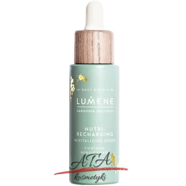Lumene HARMONIA Nutri Recharging Revitalizing Serum Serum rewitalizujące do twarzy 30 ml