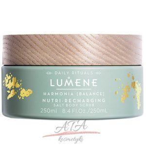 Lumene HARMONIA Nutri Recharging Salt Body Scrub Peeling solny do ciała 250 ml