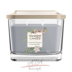 Yankee Candle ELEVATION SUN-WARMED MEADOWS Średnia świeca z trzema knotami 347 g