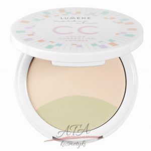 LUMENE NORDIC CHIC COLOR CORRECTING POWDER Korygujący puder do twarzy nr 1, 8g