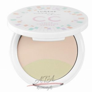 LUMENE NORDIC CHIC COLOR CORRECTING POWDER Korygujący puder do twarzy nr 2, 8g