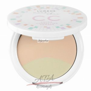 LUMENE - NORDIC CHIC COLOR CORRECTING POWDER Korygujący puder do twarzy nr 3, 8g